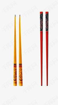 红黄色筷子素材图片免费下载 高清装饰图案psd 千库网 图片编号...