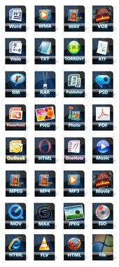 wwcomm-蓝黑系统文件图标下载,PNG图标,ICO图标,图标下载,蓝黑,浏览...