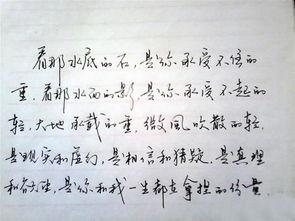 手写钢笔字 灵飞经 02