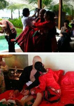 性交视播-2013年4月18日,王全安和张雨绮于结婚两周年纪念日时,远赴马尔代...
