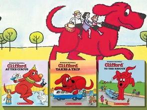 ...在美国及加拿大等许多国家Clifford是一个家喻户晓的卡通形象,也是...
