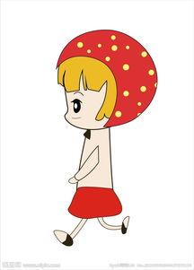 动漫小孩-卡通小女孩图片