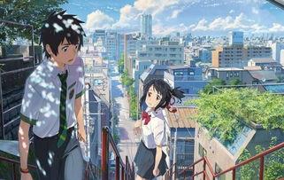 点击图片进入下一页-你的名字 票房破亿 在华赚钱的日本动画电影
