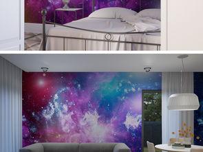 紫色宇宙星空墙纸图片设计素材 高清模板下载 14.51MB 其他大全