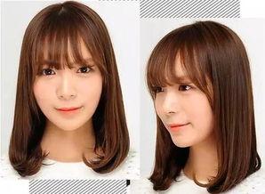4款学生发型设计与脸型搭配