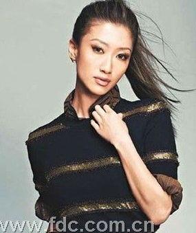摄影师赞谢婷婷很像张柏芝 天生要入娱乐圈