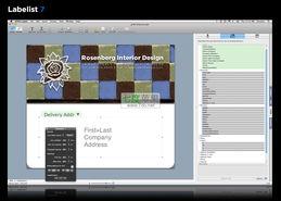 list_7_5-Labelist for mac 7.5.8 设计打印标签/名片/信封/SOHO办公必备 集众多...