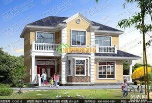 新农村25万二层占地130平方米农村自建小别墅案例分享