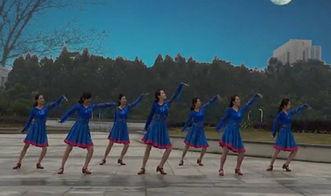 张春丽排舞教学广场舞草原的月亮