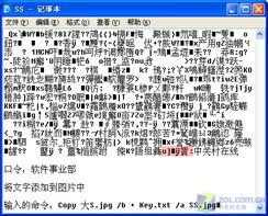 图片中隐藏文件 一切加密工具皆可卸载