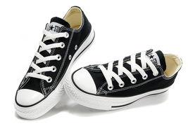 经典款黑色高帮常青帆布鞋代理一件代发厂家直销高品质34码101010 -...