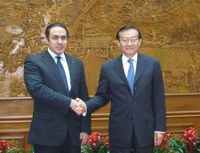 外交部副部长张明会见阿盟助理秘书长哈立德