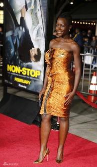 ...评2014最美女性 黑人女星夺冠