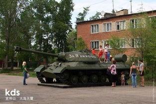 乌民兵重启二战IS 3重型坦克 炮轰乌政府军