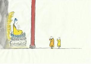 ...段语录下都配有一幅应时应景的小漫画,这些有趣的小插画全部出自...