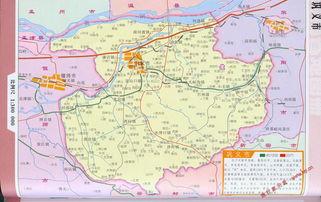 巩义市区划交通地图