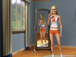模拟人生3 MOD人物 超级美女