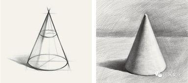 ...荐 图米文化 素描笔迹 几何形体
