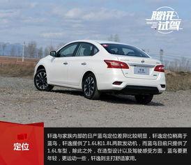 东风日产新款轩逸-10 15万元合资紧凑级家轿推荐 实力派PK 2