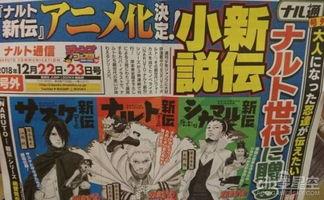 小说 火影忍者新传 将推出动画 2月10日开播