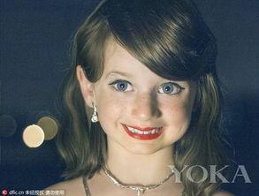 6岁女孩模仿泰勒妆扮走红网络 堪称缩小版的霉霉