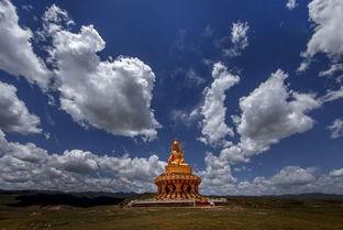 藏在深山里的神秘佛国 亚青寺