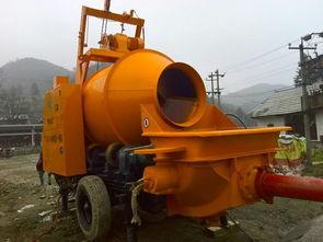 搅拌机混凝土地泵多少钱一台