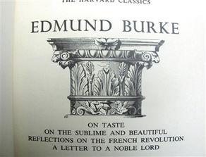 德蒙·柏克著作英文版内封.   (... 弹劾他几乎就是与整个帝国官僚体...