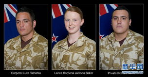 3名新西兰军人在阿富汗遇袭身亡