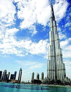 哈利法塔有163层,为世界第一高建筑.在大热影片《碟中谍3》中出现...
