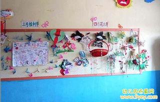 幼儿园三月植树节主题墙饰布置