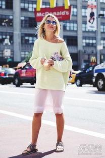 婷婷桃色网-黄色毛衣街拍照-刘诗诗高圆圆都爱的黄毛衣你入了吗