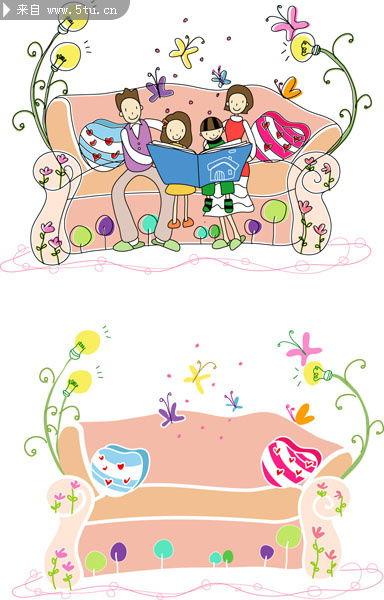儿童画冰激凌