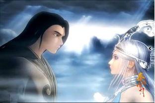 求秦时明月动画雪女高渐离在一起的图片,要多啊