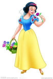 美图 白雪公主 萌物卡通
