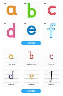冯式早教儿童英文字母卡片26个大小写母卡送教学光盘