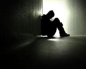 孤独的男性
