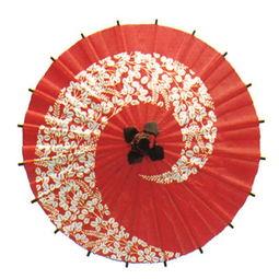 日本直送迷你小雨伞 工艺伞 装饰伞 和纸伞 花漩涡 红