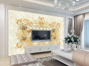 奢华欧式软包珠宝花大理石背景墙图片设计素材 高清psd模板下载 288....