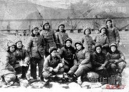朝鲜战场上的志愿军女兵