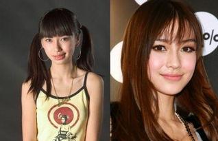 杨颖整容前后对比 杨幂整容前后照片对比 倪萍整容前后对比照片