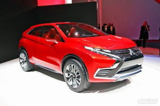 三菱XR-PHEVII概念车-三菱全新SUV预告图发布 日内瓦车展亮相