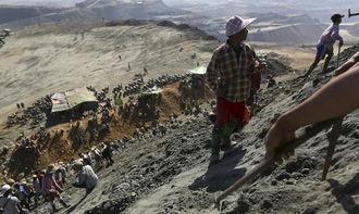 ...都是他们劳动的结晶.-曝光缅甸翡翠矿工背后的生活,珍惜你的每一...