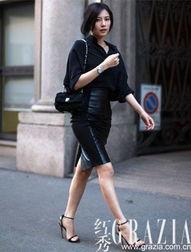 衬衫与包臀裙生来就是完美的组合-高圆圆私服街拍 一裙四穿搞定随意...