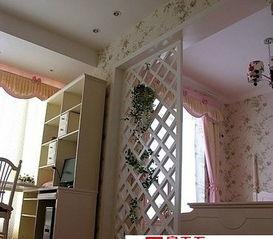 分享不同风格的卧室隔断效果图