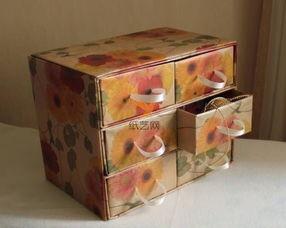 丽柜白云美束第7集完整版-...纸盒纸箱做成的美丽收纳小柜变废为宝教程