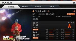 NBA2K Online 等级上限攻略