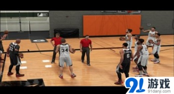 NBA 2K16 MC模式训练场得金要点