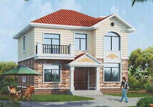 10万农村别墅设计图小户型,经济 耐看 实用