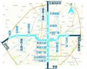 长春 地铁1 2号线拟向四方向延长